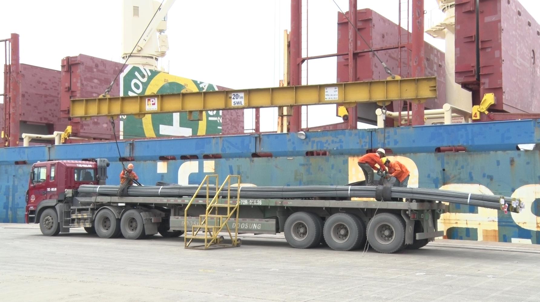 670 nghìn tấn thép xây dựng Pomina cho ra thị trường trong 8 tháng đầu năm